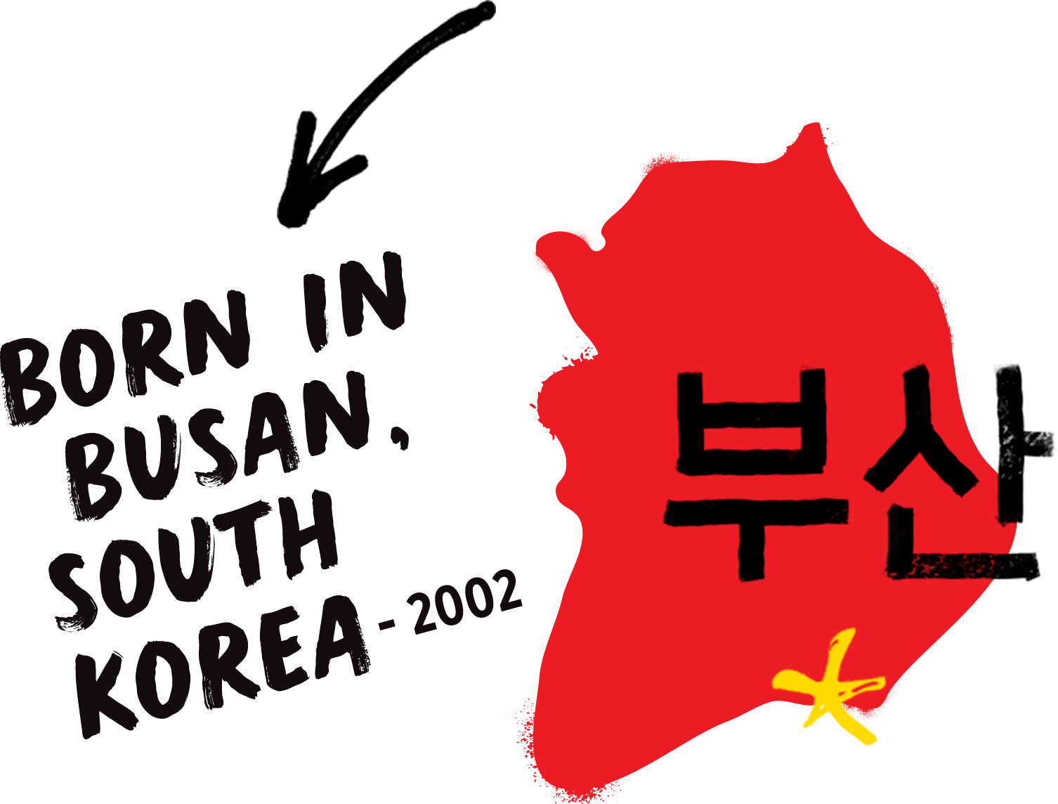 Born in Busan South Korea 2002